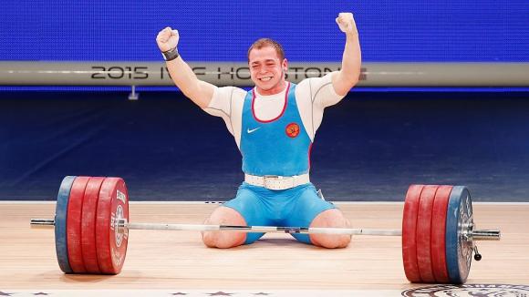 Руснак триумфира в категория до 85 килограма на световното по щанги