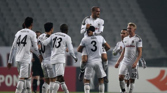 Бешикташ се справи с Шкендербю и се приближи до 1/16-финала