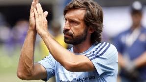 Пирло доиграва сезона в Манчестър Сити