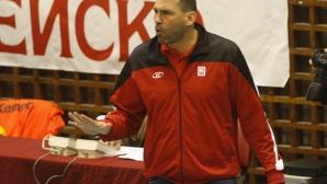 Петър Дочев: Радват ме не само резултатите, но и волейболът, който предлагаме!