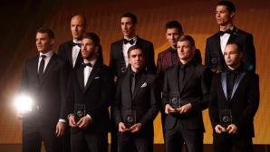 Реал Мадрид с повече футболисти от Барса сред номинираните от ФИФА