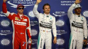 Розберг продължи да побеждава Хамилтън, този път в  квалификация за ГП на Абу Даби