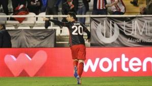 Няма Неймар, няма Суарес, Адурис е кралят на гола в Испания (видео)