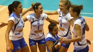 Бургас 2007 спечели дербито на новаците в НВЛ-жени