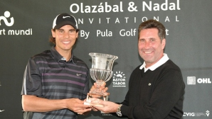 Надал спечели благотворителен голф турнир
