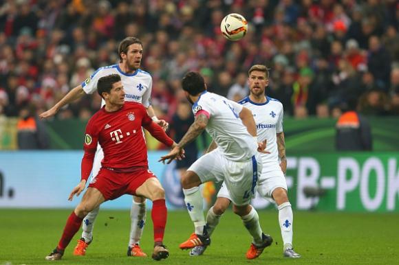 Байерн продължава за купата след неочаквано трудна победа (видео)