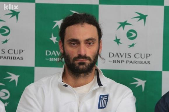 """Национал на Гърция за """"Купа Дейвис"""" беше изхвърлен от тениса заради манипулиране на мачове"""
