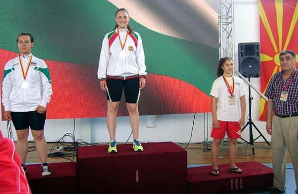 Европейската шампионка по сумо е спортист номер 1 на Кюстендил