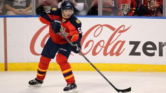 Яромир Ягър се изкачи на четвърто място в листата на голмайсторите в НХЛ