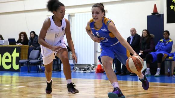 Монтана разгроми Левски в женското баскетболно първенство