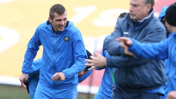 Левски навива Милиев за нов договор