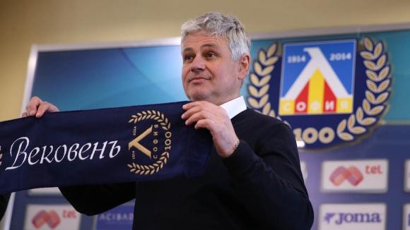 """Стоев: Мечтая за нова """"Синя приказка"""" с Левски"""