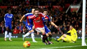 Юнайтед изигра най-силния си мач от доста време, но не успя да победи Челси (видео)