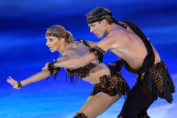 Татяна Навка и Роман Костомаров идват за леденото шоу в
