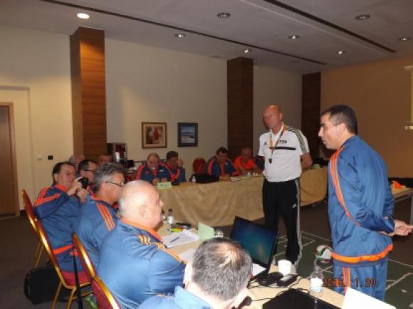 Член на Съдийската комисия на УЕФА: Нивото на българските съдии е добро