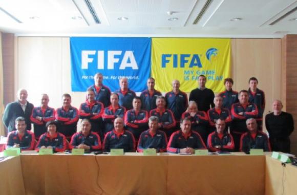 Семинарът на ФИФА - нова стъпка в процеса на развитие на българското съдийство