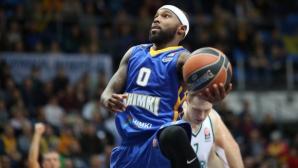 Тайриз Райс е MVP на кръга в Евролигата