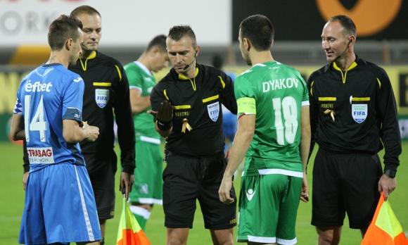 Всички контроли на Левски в часа на мача с Лудогорец