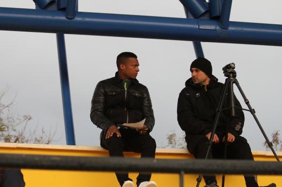 Сержиньо Грийн гледа мач на Ботев, докато си търси отбор