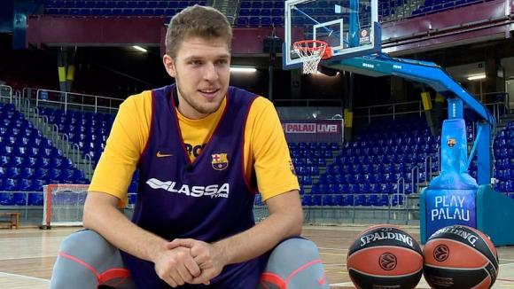 Скаут от НБА гледа Барселона заради Везенков