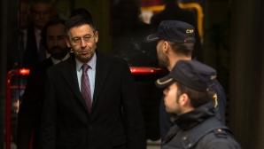Бартомеу и Росел бяха разпитани в съда заради трансфера на Неймар