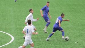 Бивш нападател на ЦСКА с първи гол за Спартак (Плевен)