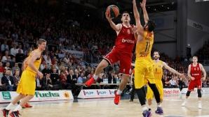 Барса загуби от Брозе Баскетс, Везенков игра 7 минути