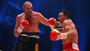 """Реваншът Фюри - Кличко може да е на 4 юни на """"Уембли"""""""