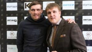 Отборът на Усик заплашва да отнеме пояса на Гловацки, ако той не се бие с украинеца