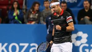 Първият 1/2-финал на Sofia Open е известен