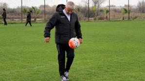 Босът на Локо (Пд) показа умения с топка