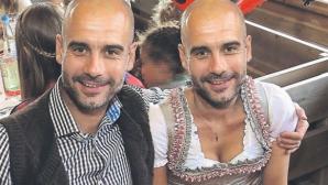 """В Германия направиха колаж на """"жената"""" Гуардиола"""