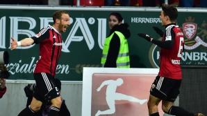 Късен обрат в дербито на Бавария (видео)