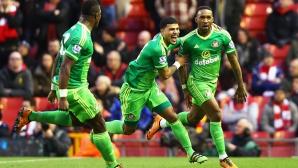 Без Клоп Ливърпул се издъни срещу предпоследния, въпреки че водеше с два гола (видео)