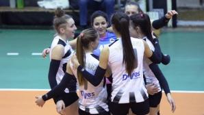 Волейболистките на Славия с чиста победа над Раковски