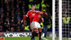 Съставите на Челси и Манчестър Юнайтед (гледайте тук)