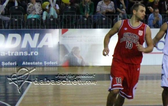 Павел Маринов с 13 точки при загуба на Динамо (Букурещ)