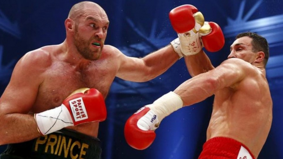 """Фюри: Мечтая да се бия с Кличко на """"Олд Трафорд"""""""