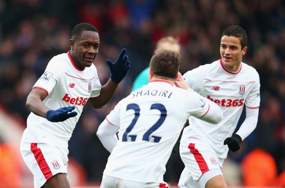 Имбюла поведе Стоук към първа победа от четири мача