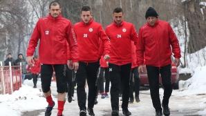 ЦСКА се прибира от Гърция днес