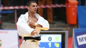 Сребърен медал за Ивайло Иванов от Гранд шлема по джудо в Париж