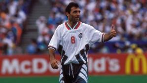 """И """"Гадзета дело Спорт"""" отбеляза юбилея на най-големия български футболист"""