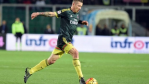 Полузащитник на Милан ще отсъства от терена около 10 дни