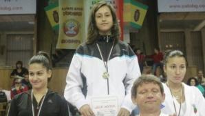 Александра Стублева спечели бронзов медал на европейското по карате