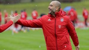 Гуардиола преговарял със Сити насред Мюнхен