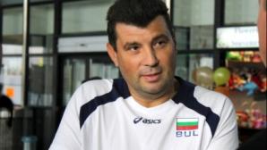 Драган Иванов е оптимист за националния отбор по волейбол за момчета до 15 години
