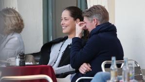 Ана Иванович отказа да коментира слуховете за сватба с Бастиан Швайнщайгер
