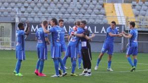 """11-те на """"сините"""" в генералната репетиция за Левски преди Разград"""