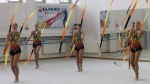 Националният ансамбъл по художествена гимнастика представи официално новите си съчетания