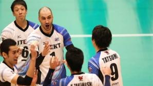 Матей Казийски с 13 точки, ДжейТЕКТ започна със загуба в плейофите в Япония